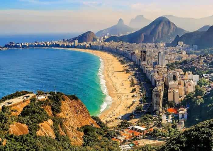 Vuelo a Rio de Janeiro.