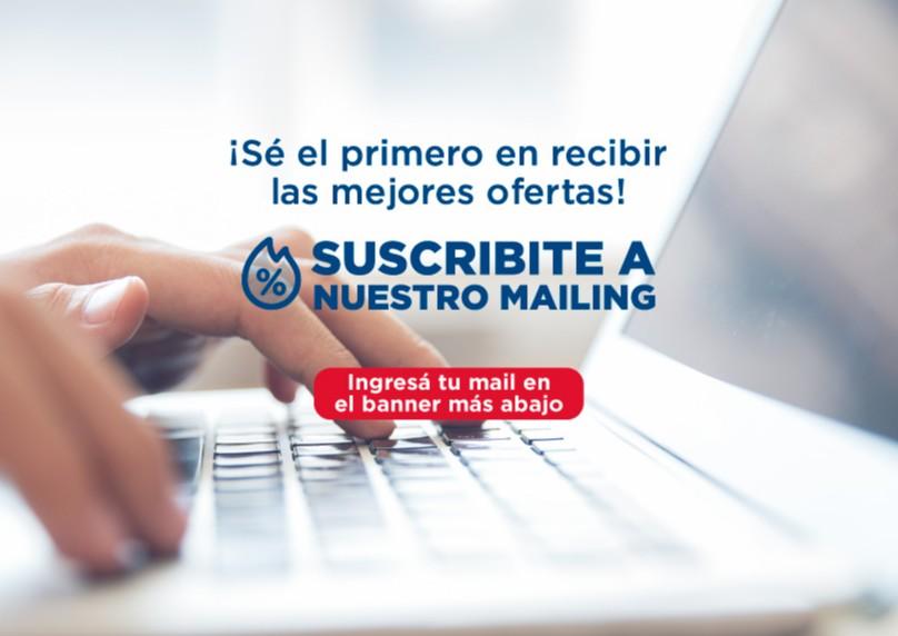 Hotel en Suscripción a mailing